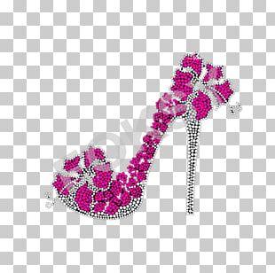 Footwear High-heeled Shoe Magenta Purple PNG