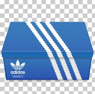 Blue Box Brand Material PNG