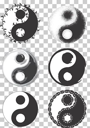 Yin And Yang Symbol Taoism PNG