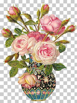 Birthday Flower Postcard Rose Wish PNG