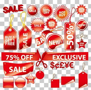 Sales Label Euclidean PNG