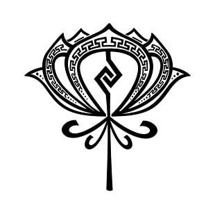 Tattoo Nelumbo Nucifera Aztec Symbol PNG