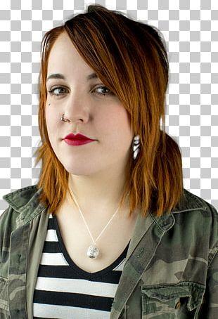 Layered Hair Hair Coloring Bangs Long Hair PNG