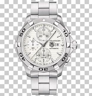 Chronograph TAG Heuer Aquaracer Automatic Watch PNG
