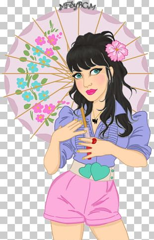 Katy Perry Cartoon Drawing Comics PNG