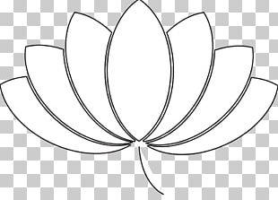 Black And White Line Art Leaf Pattern PNG