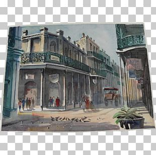 Watercolor Painting Artist French Quarter Festival PNG