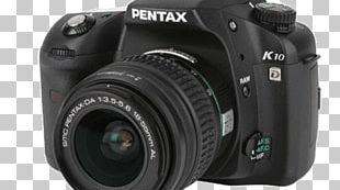 Digital SLR Pentax K10D Pentax K20D Camera Lens Samsung GX-10 PNG