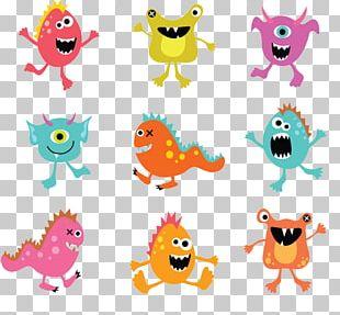 Monster Illustration PNG