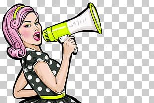 Pop Art Stock Photography Female PNG