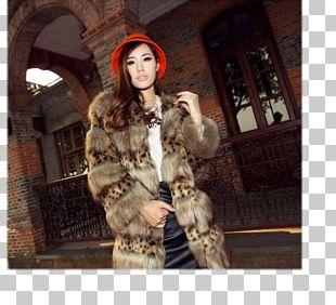 Fur Parka Fashion Jacket Coat PNG