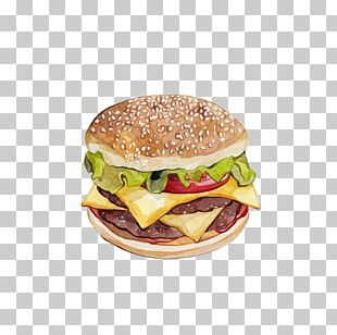 Hamburger Fast Food Pizza French Fries Junk Food PNG