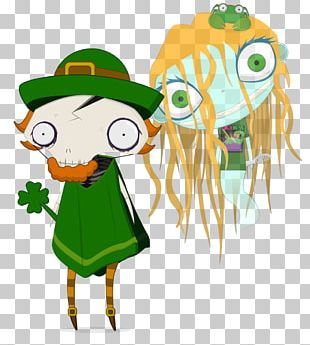Saint Patrick's Day Leprechaun Traps Art PNG