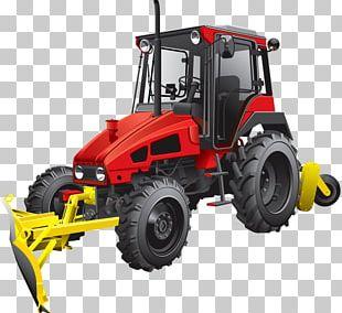 Tractor Bulldozer Plough PNG