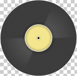 Compact Disc Phonograph Record Data Storage Yellow PNG