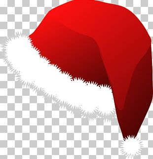 Santa Claus Hat Cap PNG
