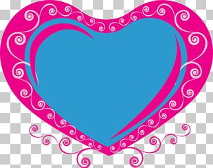 Love Heart Romance PNG
