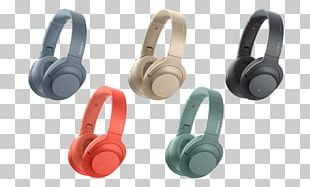 Noise-cancelling Headphones Sony H.ear On 2 Active Noise Control Wireless PNG
