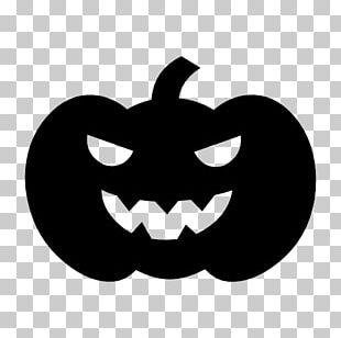 Pumpkin Halloween Silhouette PNG