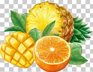 Juice Smoothie Pineapple Orange PNG