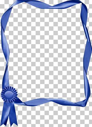 Blue Ribbon PNG