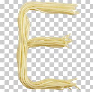 Alphabet Pasta Spaghetti Italian Cuisine Letter PNG