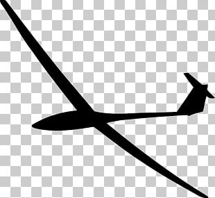 Airplane Glider Silhouette Gliding PNG