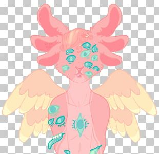 Illustration Butterfly Fairy Pink M PNG