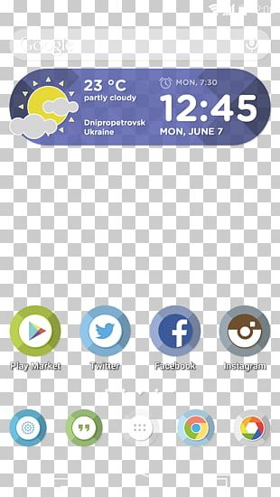 Android Smartphone Mobile App User Interface PNG