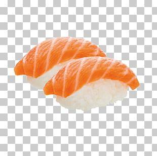 California Roll Onigiri Sashimi Smoked Salmon Sushi PNG