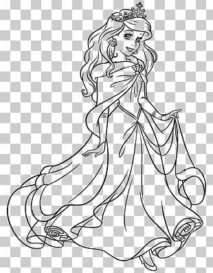Ariel Tiana Cinderella Princess Jasmine Rapunzel PNG