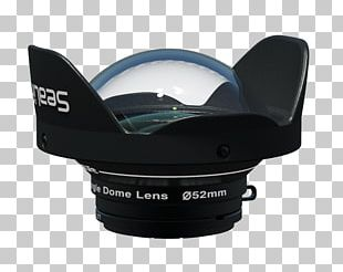 Fisheye Lens Wide-angle Lens Underwater Photography Camera Lens PNG