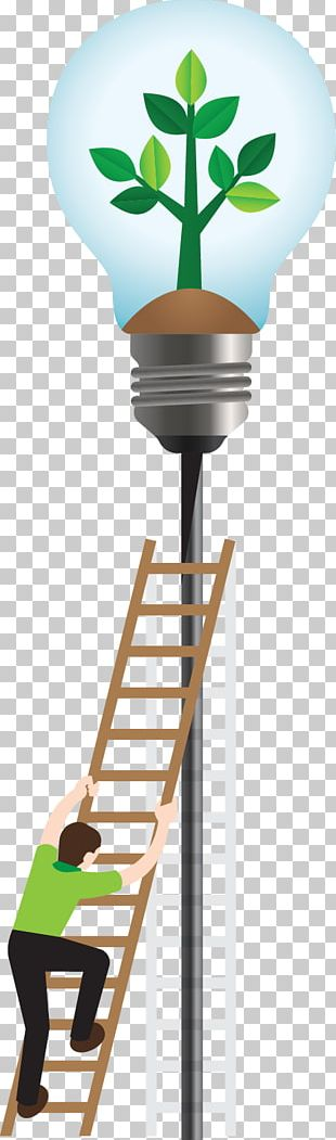 Painting Poster Incandescent Light Bulb PNG