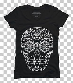 T-shirt La Calavera Catrina Skull Day Of The Dead PNG