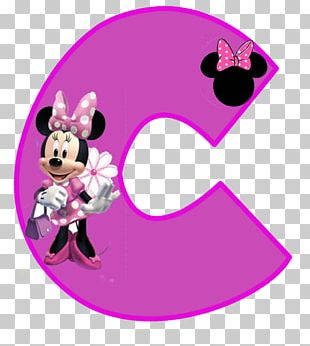 Minnie Mouse Mickey Mouse Letter Alphabet PNG