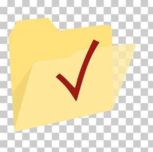 Angle Brand Material Yellow Paper PNG