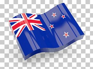 New Zealand Flag Icon Wave PNG