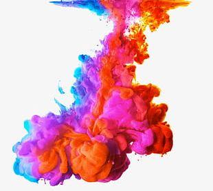 Shen Spell Color Ink PNG