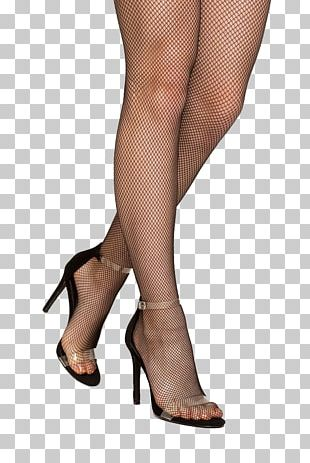Sock Sandal High-heeled Footwear Stocking Fishnet PNG