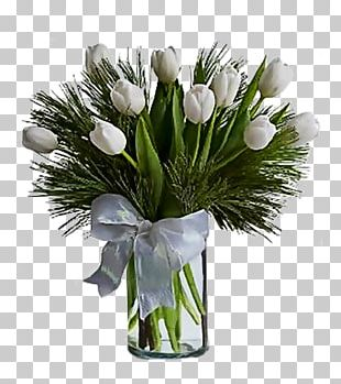 Tulip Flower Bouquet Floristry Gift PNG