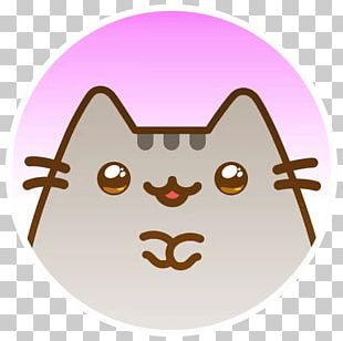 Cat Pusheen YouTube Desktop PNG