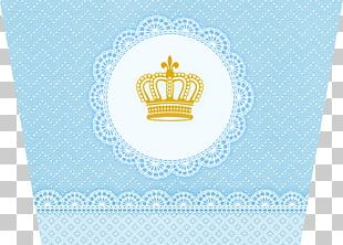 Crown Princess Coroa Real Blue PNG
