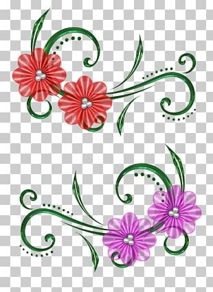 Scrapbooking Flower Embellishment Bead PNG