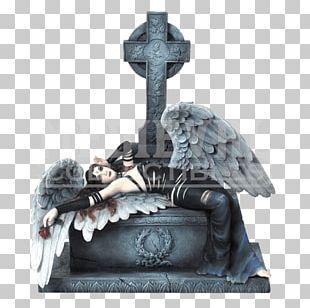 Angel Of Grief Statue Figurine Sculpture PNG