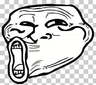 Internet Troll Trollface Rage Comic Internet Meme PNG