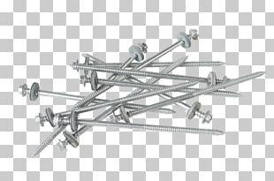 Screw Steel Washer Metal Roof PNG
