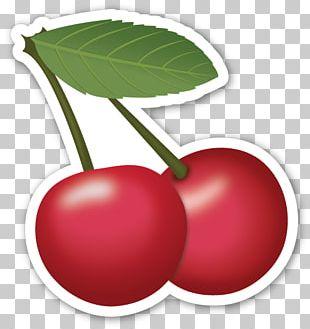 Emoji Sticker Cherry Emoticon Symbol PNG