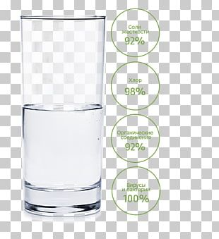 Is The Glass Half Empty Or Half Full? Water Liquid Highball Glass PNG