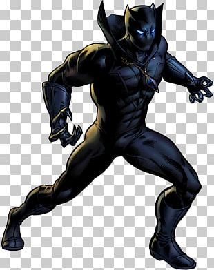 Black Panther Superhero Comic Book Marvel Comics PNG