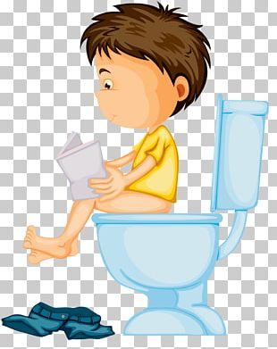 Toilet Training Child PNG